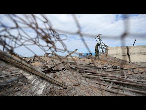 Επίθεση των ισραηλινών δυνάμεων κατά στόχων της Χαμάς στη Γάζα…