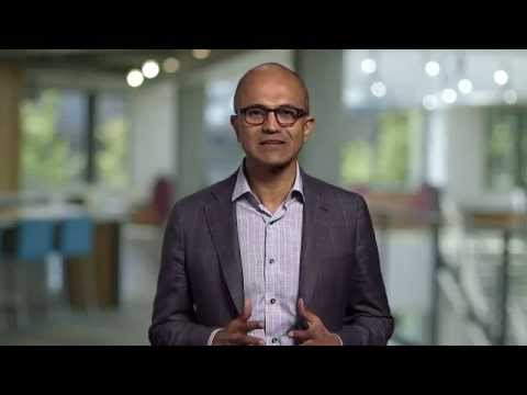 Satya Nadella Microsoft CEO conveyed his support to the Indian Government's progressive outlook
