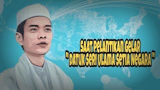 Pantun Ustad Abdul Somad Saat Pelantikan Gelar Kehormatan