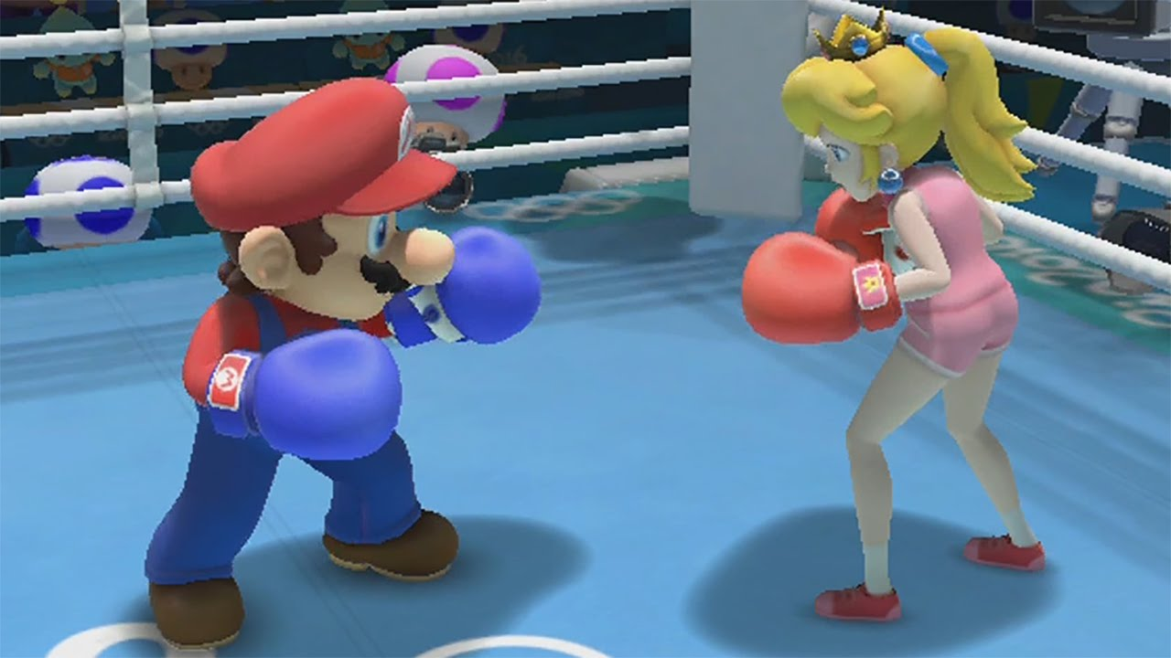 Mario & Sonic at the Rio 2016 Olympic Games (Wii U) – Boxing All Characters Gameplay