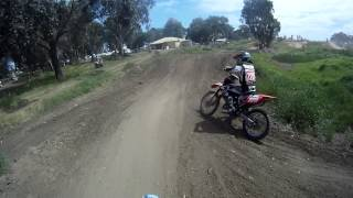7. 2003 Yamaha YZ85: Frankston MX 2012 - Helmet Cam HD