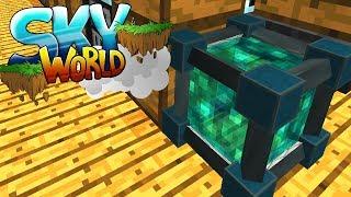Dimensional Transceiver! Hühnerfarm Automatisierung! - Minecraft SKY WORLD #11