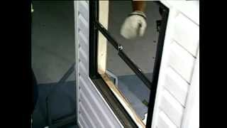 Atrium Vinyl Window Installation in an Aluminum Opening (Polish Version)