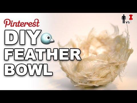DIY Feather Bowl - Man Vs Pin #249 (видео)