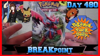 Pokemon Pack Daily BREAKpoint Booster Opening Day 480 - Featuring JessCollectsCards by ThePokeCapital