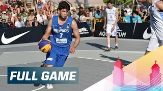 Relive the full game between Kazakhstan and the Philippines from the 2015 FIBA 3x3 U19 World Championships in Debrecen. Subscribe to the FIBA3x3 ...