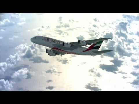 Mauritius welcomes the Emirates A380