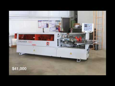 Used Edgebander Holzher Streamer 1057 From Scarlett Inc