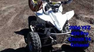6. YFZ 450 VS Polaris Outlaw KTM 525