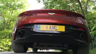 Aston Martin DB11 Exhaust Sound by MilesPerHr
