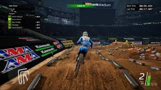 Monster Energy Supercross - Minneapolis (U.S. Bank Stadium) - Gameplay (PC HD) [1080p60FPS]
