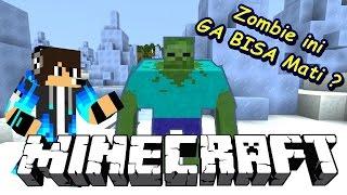 Ngelawan ZOMBIE yang GA BISA MATI ?? Minecraft Adventure Video