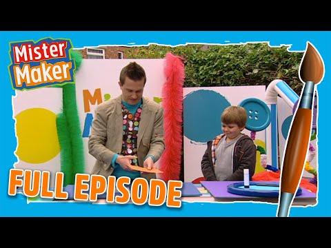 Junk Letter Make | Episode 1 | Full Episode | Mister Maker Comes To Town (видео)
