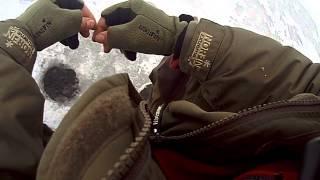 Зимняя рыбалка 2014 г  Борок Рыбинское водохранилище.