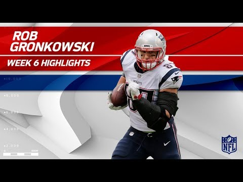 Video: Rob Gronkowski Snags 2 TDs vs. New York! | Patriots vs. Jets | Wk 6 Player Highlights