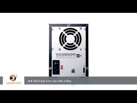 Sans Digital TowerRAID TR4UT-BP 4-Bay 3.5-Inch USB3.0 eSATA External Hard Drive RAID Enclosure with