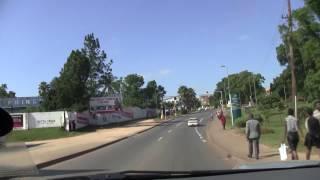 From Mbanane to Siteki thru Manzini.