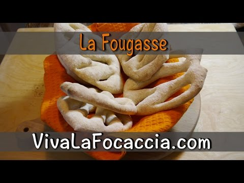 """video ricetta: dalla tradizione provenzale la """"fougasse"""""""