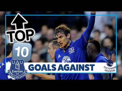 Video: BAINES, JELAVIC AND SAHA | TOP 10 GOALS AGAINST SPURS