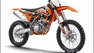 8. 2015 KTM 250 SX-F, 350 SX-F, and 450 SX-F (15 Photos)