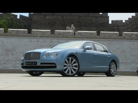 driving - http://www.TFLcar.com ) The brand new 2014 Bentley Flying Spur is a tidal wave of luxury torque...at least that's what Bentley will tell you. In this first...