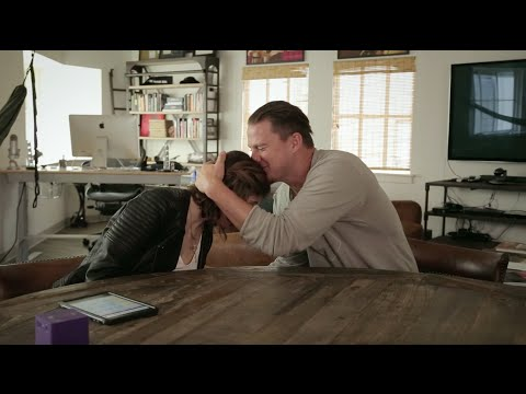 Amazing! Channing Tatum's heartwarming interview with autistic young lady.