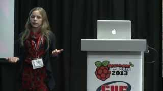 Raspberry Jamboree 2013: Amy Mather - Conway's Game Of Life
