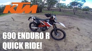 7. KTM 690 Enduro R - Quick Ride!