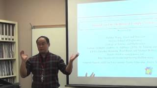Materials and the Modeling of Complex Systems. Dr. Sheldon Wang
