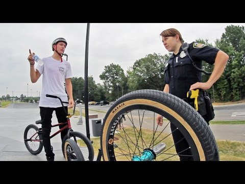 Webisode 47: Kicked out of the Skatepark (BMX)