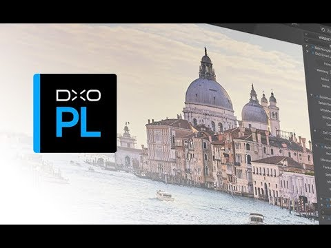 Workflow with DxO PhotoLab: from the camera to the export