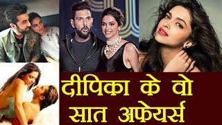 Download Video Deepika Padukone's Love Affairs: Men Deepika Dated before Ranveer Singh   FilmiBeat MP3 3GP MP4