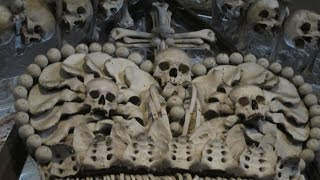 Kutna Hora Czech Republic  City new picture : Bone Church near Prague / Kostnice SEDLEC Ossuary - Kutna Hora / Czech Republic