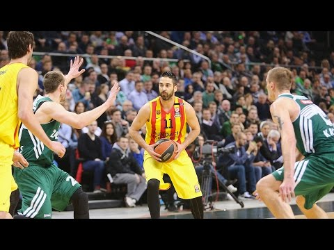 Highlights: Top 16, Round 12 vs. Zalgiris Kaunas