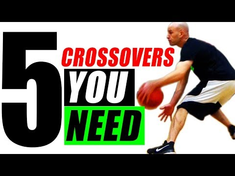 5 Crossover Moves YOU Must MASTER! BREAK ANKLES In Basketball!