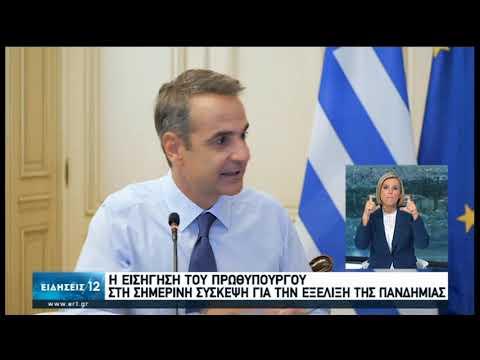 Κ.Μητσοτάκης | Η εισήγηση στη σημερινή σύσκεψη για την εξέλιξη του Κορονοϊού | 05/08/2020 | ΕΡΤ