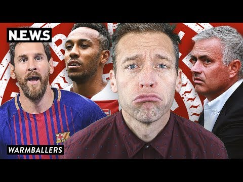 MESSI AND RONALDO WIN THEIR FIRST MATCH, ARSENAL AND MAN UNITED SUCK! (видео)