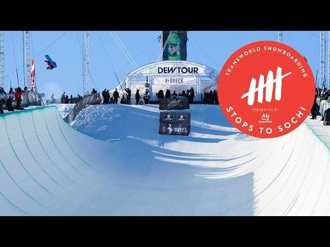Greg Bretz - Greg Bretz takes out Shaun White for the Dew Tour pipe win Check out more videos at www.twsnow.com.
