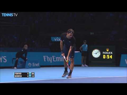 Video pha bỏ nhỏ cực khéo của Federer