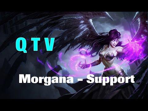 Liên Minh Huyền Thoại: QTV Morgana support kèo cực khó