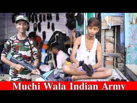 Muchi Wala Bane Indian Army || मोची बाला इंडियन आर्मी || Dooars Films Vlog