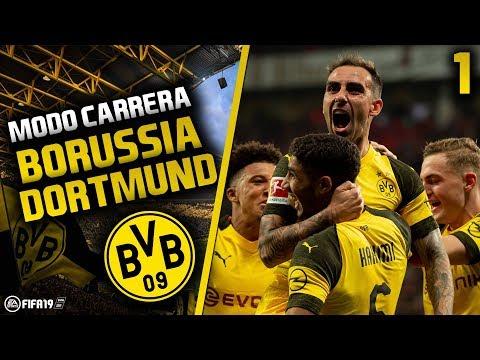 ¡EL BORUSSIA DE PACO ALCÁCER Y REUS!   FIFA 19 Modo Carrera: Borussia Dortmund   Episodio 1