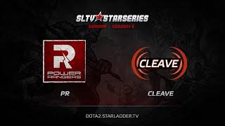 Cleave vs PR, game 1