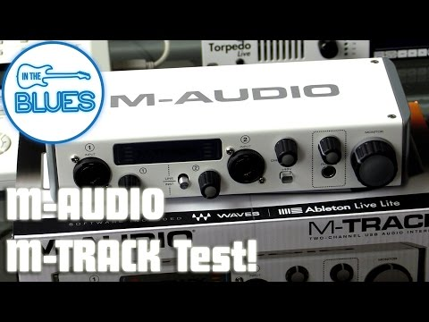 M-Audio M-Track MKII Audio Interface Unboxing & Sound Test
