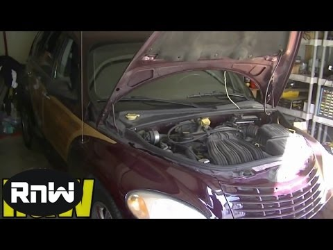 how to replace the battery temperature sensor on a chrysler pt cruiser car fix diy videos. Black Bedroom Furniture Sets. Home Design Ideas