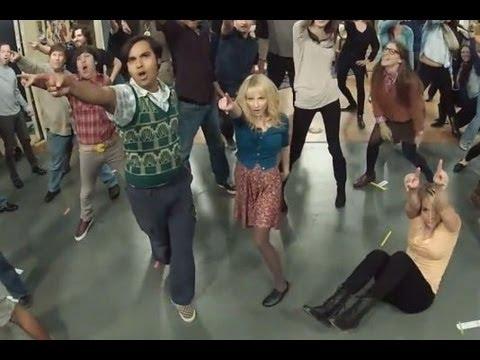 big bang theory flash mob