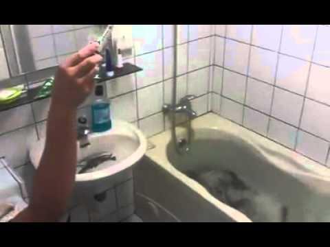 浴缸裝蝦!打開廁所就是我的VIP釣蝦場!