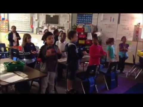 Elementary School wide STUDENT Flash Mob for Staff Appreication Week