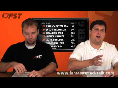 2012-2013 Fantasy Basketball Power Forward Tiers and Rankings