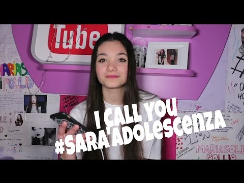 I call you #SaràAdolescenza|Mary (видео)